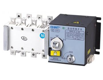 Реверсный рубильник с блоком АВР и приоритетом первого ввода для дизель-генератора NH40-630/3SZ III, 3P ,630А
