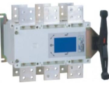 Перекидной рубильник NH40-2000/3CS, 3P, 2000А, I-0-II, стандартная рукоятка