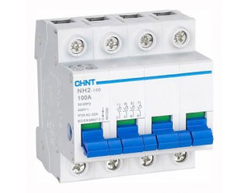 Выключатель нагрузки NH2-125 4P 100A